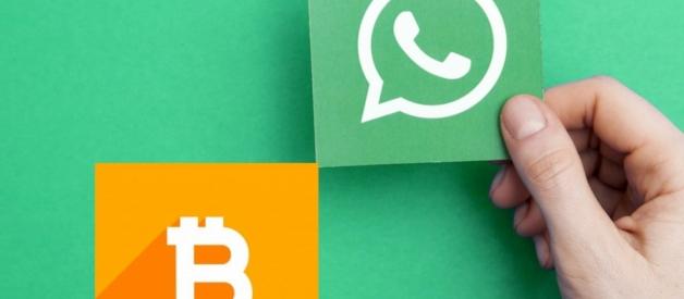 Puteți trimite și primi BITCOIN pe WhatsApp